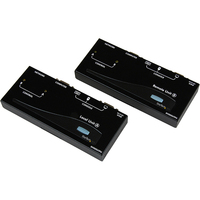 StarTech.com USB VGA Console Extender over CAT5 UTP (500 ft) - 2 Computer(s) - 2 - 1 x HD-15 Video In