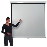 Metroplan Leader LVM8001 Manual Projection Screen