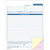 Adams Contractors Invoice Book ABFTC8122