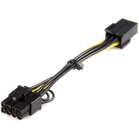 StarTech.com Power Adapter Cable - PCI Express - 6 Pin - 8 Pin - PCIe - Yellow