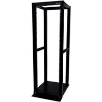 StarTech.com 36U Adjustable 4 Post Server Equipment Open Frame Rack Cabinet - 36U