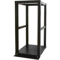 StarTech.com 25U 4 Post Server Open Frame Rack Cabinet - 23 25U
