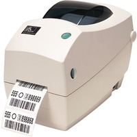 Zebra TLP 2824 Plus Direct Thermal/Thermal Transfer Printer - Label Print - Monochrome
