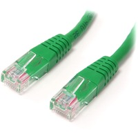 StarTech.com 10ft Green Molded Cat5e UTP Patch Cable - Category 5e - 1 x RJ-45 Male Network