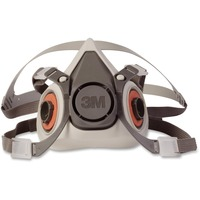 This half-facepiece respirator offers reliable, convenient respiratory protection and is suitable for many situations, helping provide protection against particulates and a wide variety of gases and vapors according to NIOSH approvals. Small reusable respirator must be combined with 3M Particulate Filters or Cartridges (such as organic vapor/acid gas cartridges) in its bayonet holder or dual airline system. It is not designed for use in environments that are immediately dangerous to life or health. More from the Manufacturer
