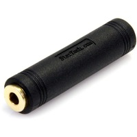 StarTech.com 3.5 mm to 3.5 mm Audio Coupler - Female to Female - PVC