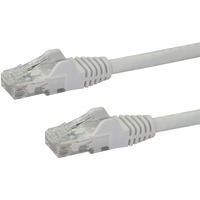 StarTech.com 25 ft White Snagless Cat6 UTP Patch Cable - Category 6 - 25 ft - 1 x RJ-45 Male Network - 1 x RJ-45 Male Network - White