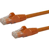 StarTech.com 7 ft Orange Snagless Cat6 UTP Patch Cable - Category 6 - 7 ft - 1 x RJ-45 Male Network - Orange