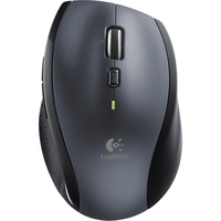 Logitech M705 Mouse - Laser Wireless - Silver