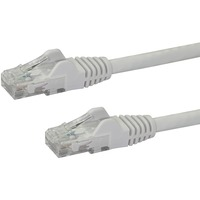 StarTech.com 100 ft White Snagless Cat6 UTP Patch Cable - Category 6 - 100 ft - 1 x RJ-45 Male Network - 1 x RJ-45 Male Network - White
