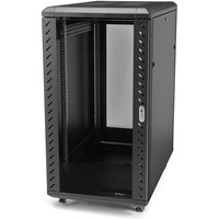 StarTech.com 22U 36in Knock-Down Server Rack Cabinet with Casters - 36 22U
