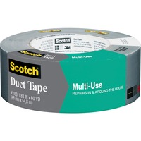 "Scotch?� Multi-Use Duct Tape 1.88"" x 60 yd, Gray 1160-a"