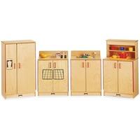 Jonti-Craft - Natural Birch Play Kitchen Set