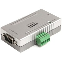 StarTech.com 2 Port USB to RS232 RS422 RS485 Serial Adapter with COM Retention - 1 x 9-pin DB-9 Male RS-232/422/485 Serial