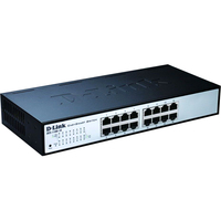 D-Link DES-1100-16 16 Ports Manageable Ethernet Switch