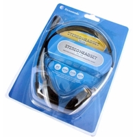 Dynamode Wired Stereo Headset - Over-the-head - Semi-open - 32 Ohm - 20 Hz - 20 kHz - 1.80 m Cable - Mini-phone