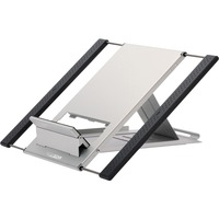 Newstar Portable Laptop and Tablet Desk Stand - Silver