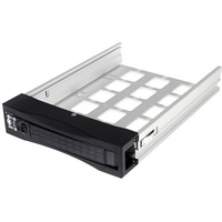StarTech.com Extra 2.5in or 3.5in Hot Swap Hard Drive Tray for SATSASBAY3BK - 1 x Total Bay - 1 x 3.5 Bay