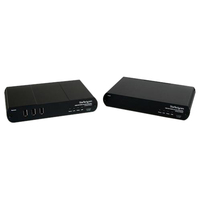 StarTech.com USB DVI KVM Console Extender w/ True USB 2.0 and Audio - 500m - 1 Computer(s) - 1 - 1 x DVI-D Digital Video