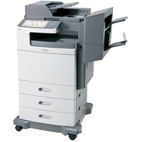Lexmark X792DTFE Laser Multifunction Printer - Colour - Plain Paper Print - Floor Standing