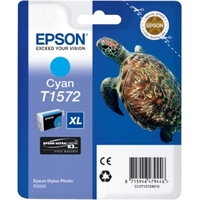 Epson UltraChrome K3 T1572 Ink Cartridge - Cyan