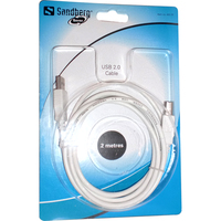 Sandberg USB Data Transfer Cable - 2 m