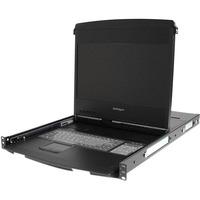 "StarTech.com 1U 17"" HD 1080p Dual Rail Rackmount Widescreen LCD Console - 1 Computer(s)"