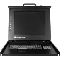 StarTech.com 1U 17 Rackmount LCD Console w/16 Port KVM Switch - Built-in KVM Switch - 16 Computer(s) - 17 Active Matrix TFT LCD - 16 x HD-15 Keyboard/Mouse/Video, 1