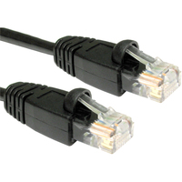 Cables Direct B5-100K Cat 5e Network Cable - 50 cm - Black