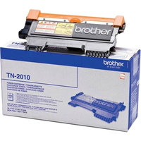 Brother TN2010 Toner Cartridge - Black - Laser - 1000 Page - 1 Pack