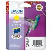 Epson Claria T0804 Ink Cartridge - Yellow