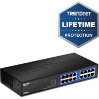 TRENDnet TEG-S16DG 16 Ports Ethernet Switch