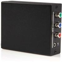 StarTech.com Component to HDMI Video Converter with Audio - 1 x Mini-phone Female Audio