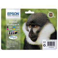 Epson T0895 Ink Cartridge - Black, Cyan, Magenta, Yellow