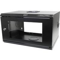 StarTech.com 6U 19in Wallmount Server Rack Cabinet with Acrylic Door - 19 6U Wall Mounted