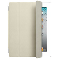 Apple iPad Smart Cover - Leather - Cream