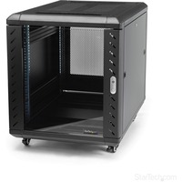 StarTech.com 12U 36in Knock-Down Server Rack Cabinet with Casters - 36 12U
