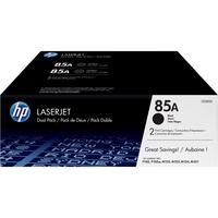 HP 85A Toner Cartridge - Black - Laser - 1600 Page - 2 Pack