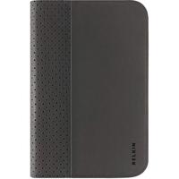 "Belkin Slim Folio Carrying Case (Folio) for 17.8 cm (7"") Tablet PC - Black - Faux Leather"