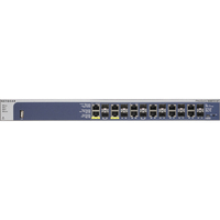 Netgear ProSafe GSM7212F 12 Ports Manageable Ethernet Switch - 8 x Network (RJ-45) Ports - 4 x PoE+ Ports - 12 x Expansion Slots - 10/100/1000Base-T - 12, 12 x Netwo