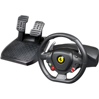 Thrustmaster Ferrari 458 Italia Gaming Steering Wheel, Gaming Pedal