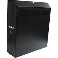 StarTech.com 4U 19in Secure Horizontal Wall Mountable Server Rack - 2 Fans Included - 19 4U Wall Mounted