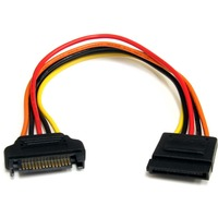 StarTech.com 8in 15 pin SATA Power Extension Cable - 8in - SATA - SATA