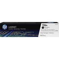 HP 126A Toner Cartridge - Black - Laser - 1200 Page - 2 / Box