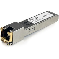 StarTech.com Cisco Compatible Gigabit RJ45 Copper SFP Transceiver Module - Mini-GBIC with Digital Diagnostics Monitoring - 1 x 10/100/1000Base-T LAN