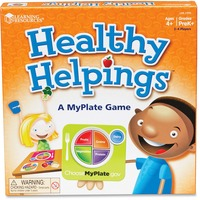 Image LRNLER2395 Business/Services efsai Learning Resources Healthy Helpings MyPlate Game 7.65E+11 ler2395 Best Orders