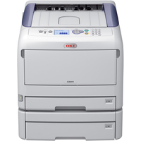 Oki C800 C841DN LED Printer - Colour - 1200 x 1200 dpi Print - Plain Paper Print - Desktop