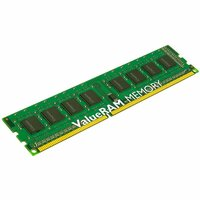 Kingston ValueRAM RAM Module - 16 GB (1 x 16 GB) - DDR3 SDRAM - 1333 MHz DDR3-1333/PC3-10600 - 1.50 V - ECC - Registered - CL9 - 240-pin - DIMM