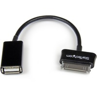 StarTech.com USB OTG Adapter Cable for Samsung Galaxy Tab - 1 x Proprietary Connector Male