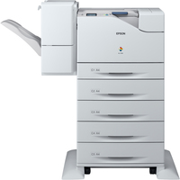 Epson WorkForce AL-C500DXN Laser Printer - Monochrome - 4800 dpi Print - Plain Paper Print - Floor Standing
